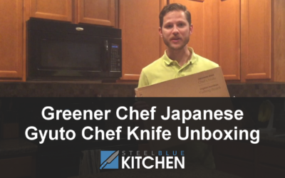 Greener Chef Japanese Gyuto Chef Knife Unboxing
