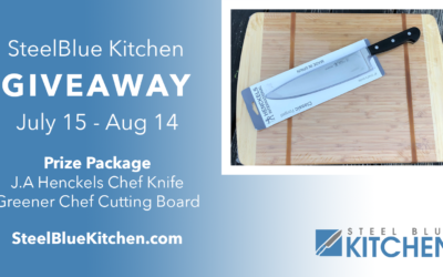 J.A. Henckels Chef Knife and Greener Chef Cutting Board Giveaway