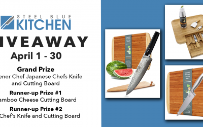 Greener Chef Japanese Chefs Knife and Cutting Board Giveaway
